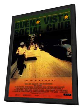 Buena Vista Social Club - 11 x 17 Movie Poster - Style A - in Deluxe Wood Frame