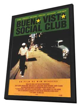 Buena Vista Social Club - 27 x 40 Movie Poster - Spanish Style A - in Deluxe Wood Frame