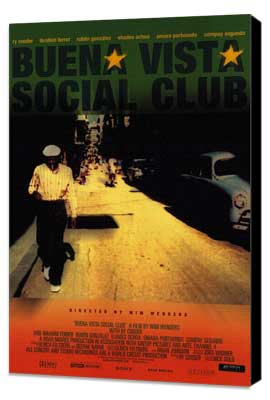 Buena Vista Social Club - 11 x 17 Movie Poster - Style A - Museum Wrapped Canvas