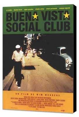 Buena Vista Social Club - 27 x 40 Movie Poster - Spanish Style A - Museum Wrapped Canvas