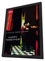 Buenos Aires Zero Degree: The Making of Happy Together - 11 x 17 Movie Poster - Hong Kong Style D - in Deluxe Wood Frame