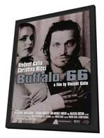 Buffalo 66 - 27 x 40 Movie Poster - Style A - in Deluxe Wood Frame