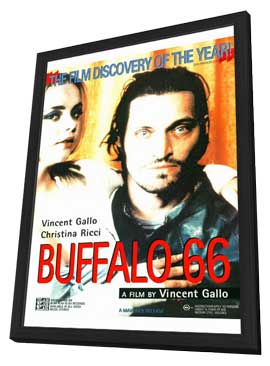 Buffalo 66 - 11 x 17 Movie Poster - Style B - in Deluxe Wood Frame
