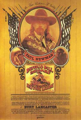 Buffalo Bill & the Indians - 27 x 40 Movie Poster - Style A