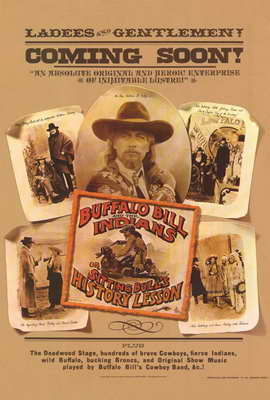 Buffalo Bill & the Indians - 27 x 40 Movie Poster - Style B