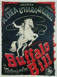 Buffalo Bill - 11 x 17 Poster - Foreign - Style A