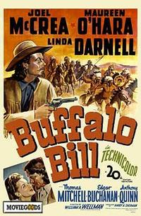 Buffalo Bill - 43 x 62 Movie Poster - Bus Shelter Style A