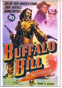 Buffalo Bill - 11 x 17 Movie Poster - Spanish Style A