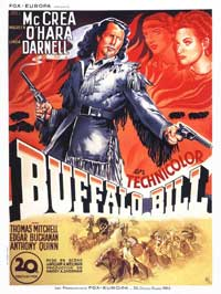 Buffalo Bill - 11 x 17 Movie Poster - French Style A