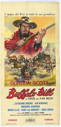 Buffalo Bill - 14 x 36 Movie Poster - Insert Style A