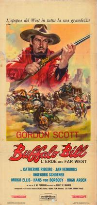 Buffalo Bill - 11 x 17 Movie Poster - Italian Style A