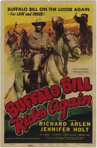 Buffalo Bill Rides Again - 11 x 17 Movie Poster - Style A