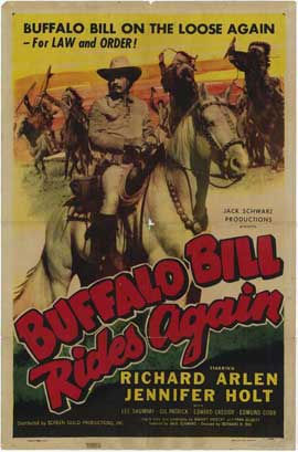 Buffalo Bill Rides Again - 27 x 40 Movie Poster - Style A