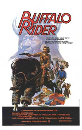Buffalo Rider - 11 x 17 Movie Poster - Style A