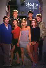 Buffy The Vampire Slayer (TV) - 27 x 40 TV Poster - Style E