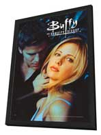 Buffy The Vampire Slayer (TV) - 11 x 17 TV Poster - Style E - in Deluxe Wood Frame