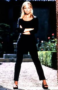 Buffy The Vampire Slayer (TV) - 8 x 10 Color Photo #023