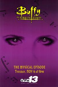 Buffy The Vampire Slayer (TV) - 27 x 40 TV Poster - Style D