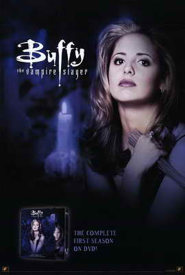 Buffy The Vampire Slayer (TV) - 27 x 40 TV Poster - Style F
