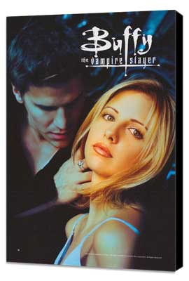 Buffy The Vampire Slayer (TV) - 11 x 17 TV Poster - Style E - Museum Wrapped Canvas