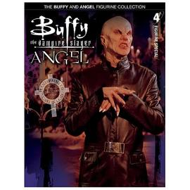 Buffy The Vampire Slayer (TV) - Buffy /  Angel Collector Magazine with The Master Figure