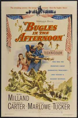 Bugles in the Afternoon - 11 x 17 Movie Poster - Style A