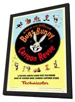 Bugs Bunny A Cartoon Revue - 27 x 40 Movie Poster - Style A - in Deluxe Wood Frame