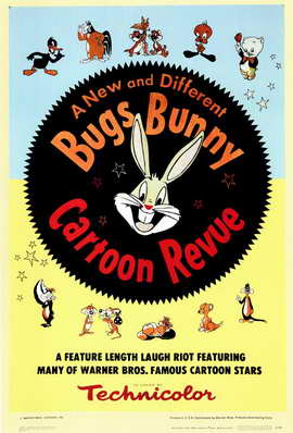 Bugs Bunny A Cartoon Revue - 11 x 17 Movie Poster - Style A