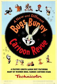 Bugs Bunny A Cartoon Revue - 43 x 62 Movie Poster - Bus Shelter Style A