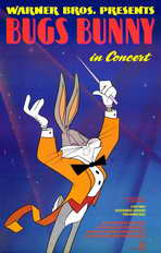 Bugs Bunny in Concert - 11 x 17 Movie Poster - Style A