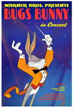 Bugs Bunny in Concert - 27 x 40 Movie Poster - Style A