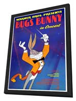 Bugs Bunny in Concert - 27 x 40 Movie Poster - Style A - in Deluxe Wood Frame