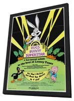 Bugs Bunny Superstar - 11 x 17 Movie Poster - Style A - in Deluxe Wood Frame