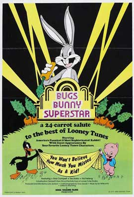 Bugs Bunny Superstar - 11 x 17 Movie Poster - Style A