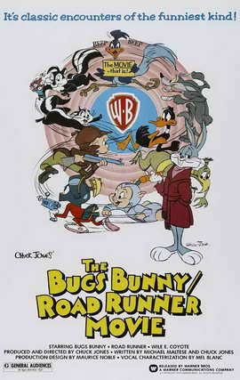 Bugs Bunny/Road Runner Movie - 11 x 17 Movie Poster - Style A
