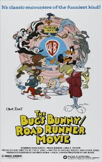 Bugs Bunny/Road Runner Movie - 43 x 62 Movie Poster - Bus Shelter Style A