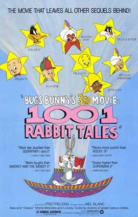 Bugs Bunny's 1001 Rabbit Tales - 27 x 40 Movie Poster - Style A