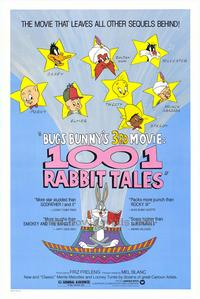 Bugs Bunny's 1001 Rabbit Tales - 43 x 62 Movie Poster - Bus Shelter Style A