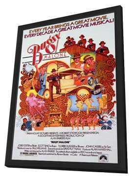 Bugsy Malone - 11 x 17 Movie Poster - Style A - in Deluxe Wood Frame