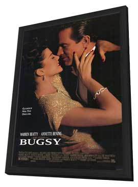 Bugsy - 11 x 17 Movie Poster - Style A - in Deluxe Wood Frame