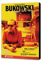 Bukowski: Born Into This - 27 x 40 Movie Poster - Style B - Museum Wrapped Canvas