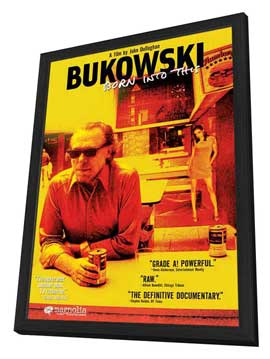Bukowski: Born Into This - 27 x 40 Movie Poster - Style B - in Deluxe Wood Frame