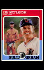 Bull Durham - 11 x 17 Movie Poster - Style D