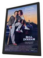 Bull Durham - 11 x 17 Movie Poster - Style A - in Deluxe Wood Frame