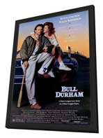 Bull Durham - 27 x 40 Movie Poster - Style A - in Deluxe Wood Frame