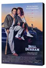 Bull Durham - 11 x 17 Movie Poster - Style A - Museum Wrapped Canvas