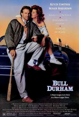 Bull Durham - 27 x 40 Movie Poster - Style A