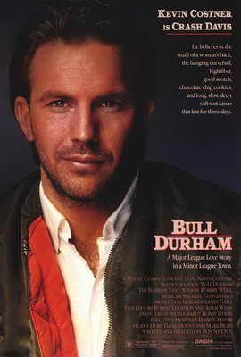 Bull Durham - 27 x 40 Movie Poster - Style B