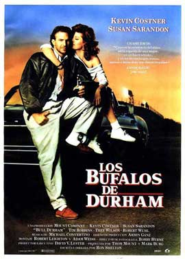 Bull Durham - 27 x 40 Movie Poster - Spanish Style A