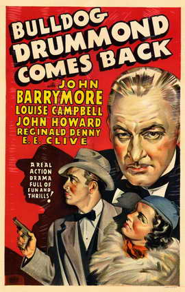 Bulldog Drummond Comes Back - 11 x 17 Movie Poster - Style A